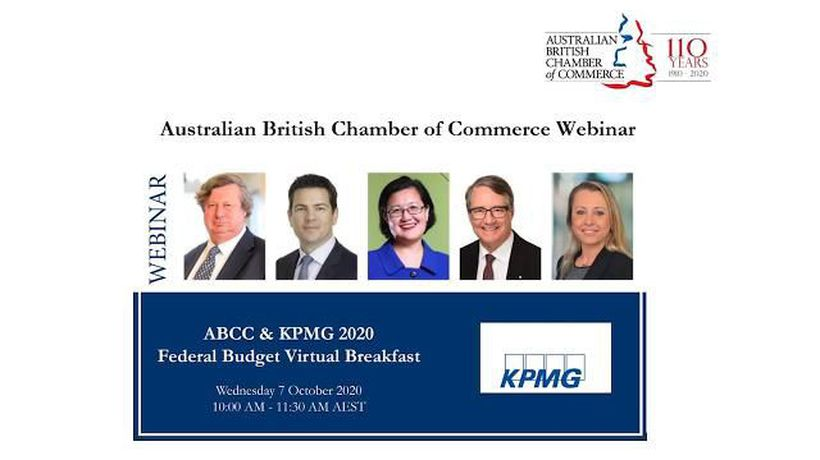 ABCC & KPMG 2020 Federal Budget Speaker Insights