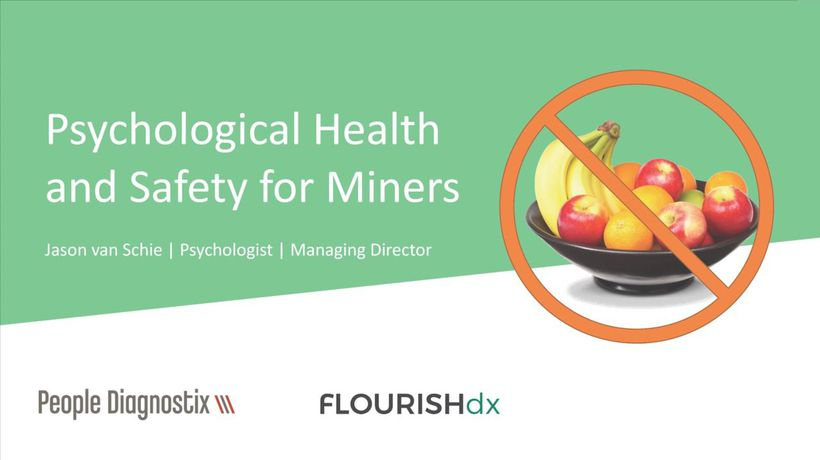 Mining Mates lunch: Psychological Health and Safety for Miners