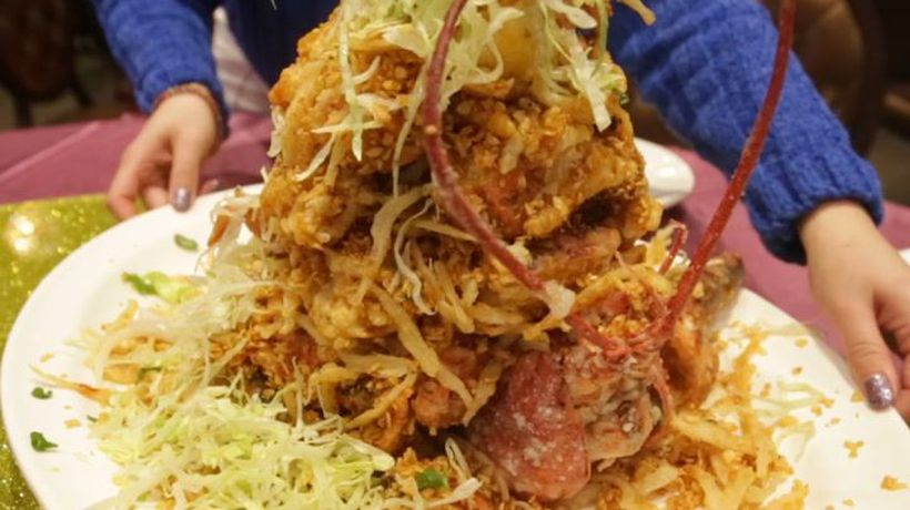 This lobster mountain feast costs nearly $400