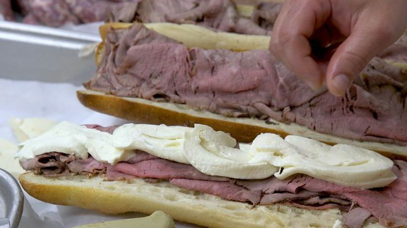 Hoboken is obsessed with this roast beef sandwich.