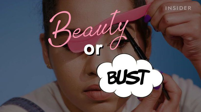 We tried a $10 beauty tool for lashes, contour, and winged liner