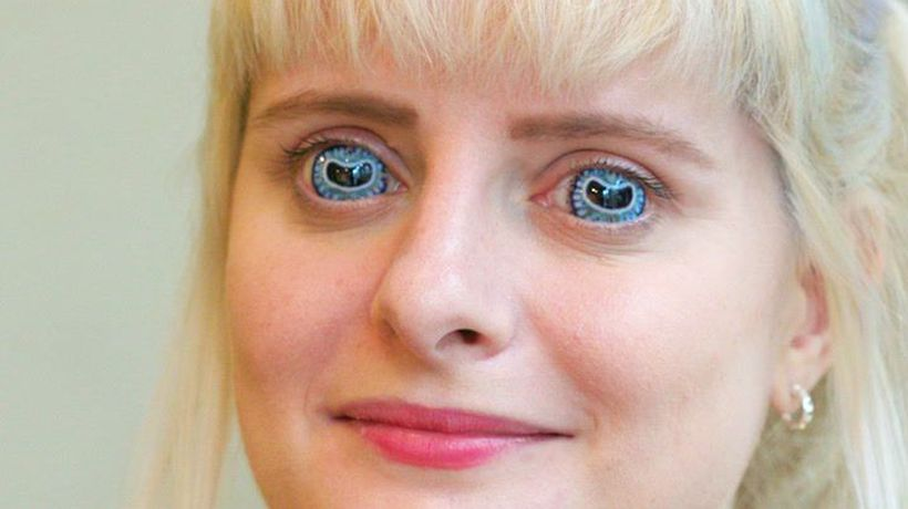 How contact lenses are made for movies and TV shows