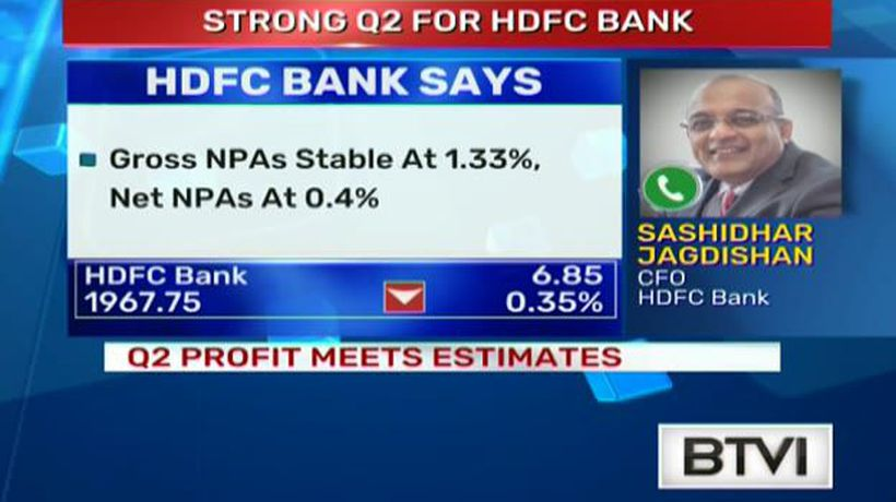 Strong Q2 for HDFC Bank