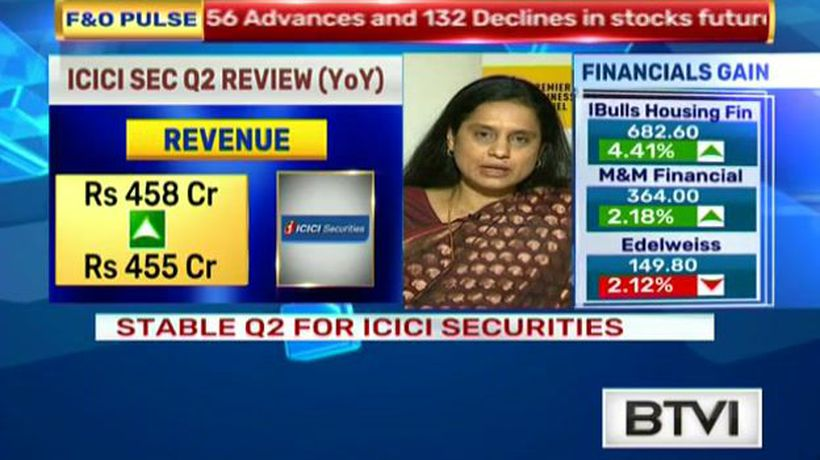 Stable Q2 for ICICI Securities