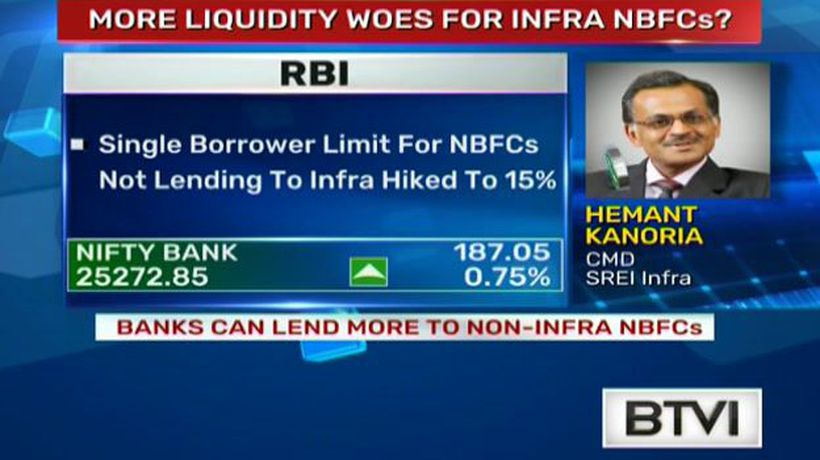 Banks can lend more to non-infra NBFCs
