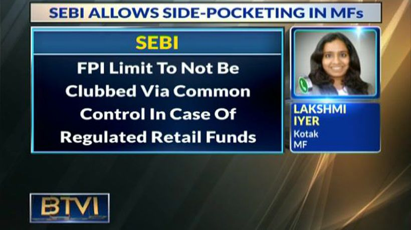 SEBI allows side-pocketing in MFs