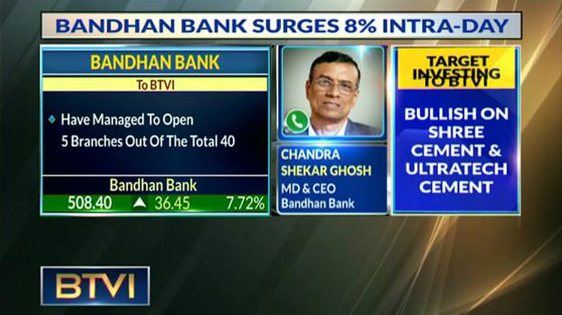 Bandhan Bank MD: Aim To Reduce Promoter Stake By Selling Shrs To Holding Co