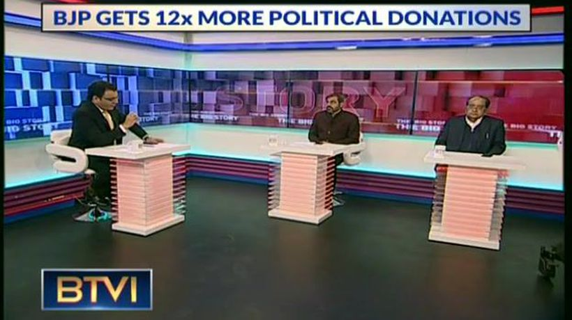The Dynamics of political donations