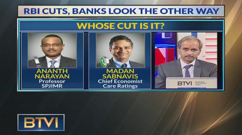 RBI Cuts, Banks Look The Other Way