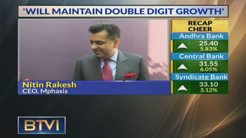 Will maintain double digit growth: Nitin Rakesh, Mphasis