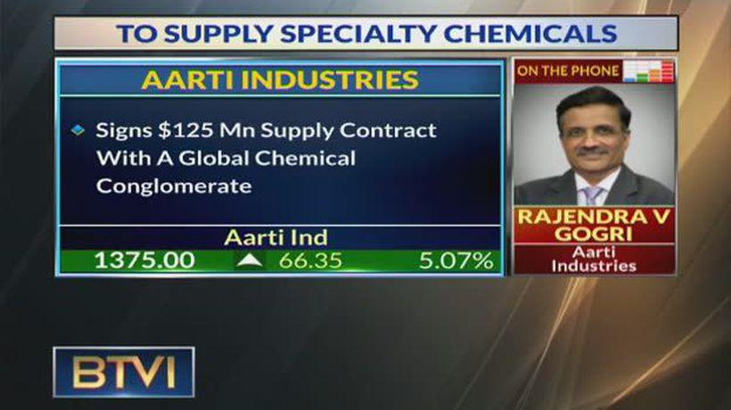 Aarti Industries signs $125 Mn supply order