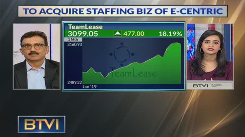 Teamlease to acquire staffing biz of e-centric