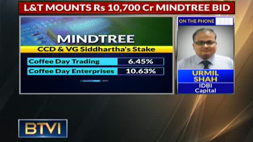 L&T Acquires 20% Stake In Mindtree