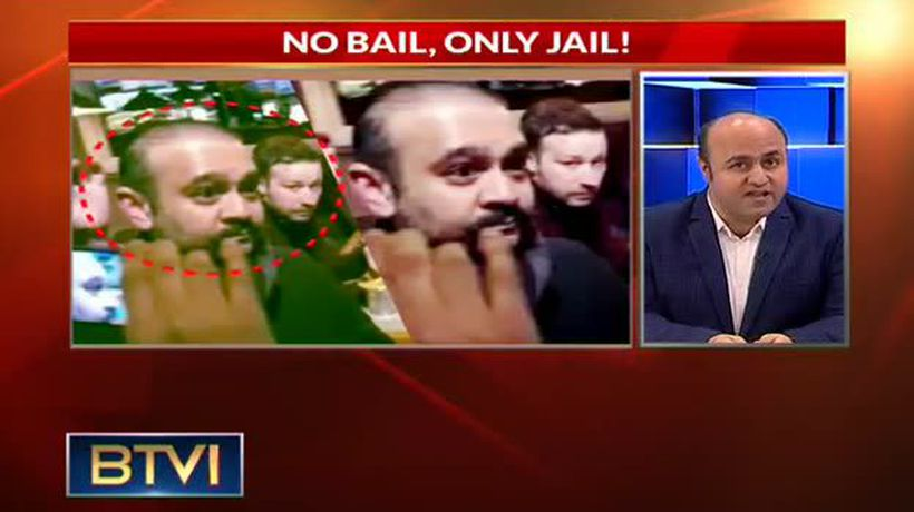No bail, only jail for Nirav Modi