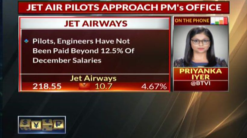 Jet Airways Pilots Approach PM's Office