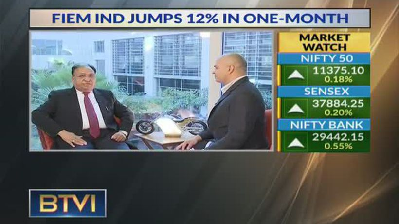 FIEM India Jumps 12% In One Month