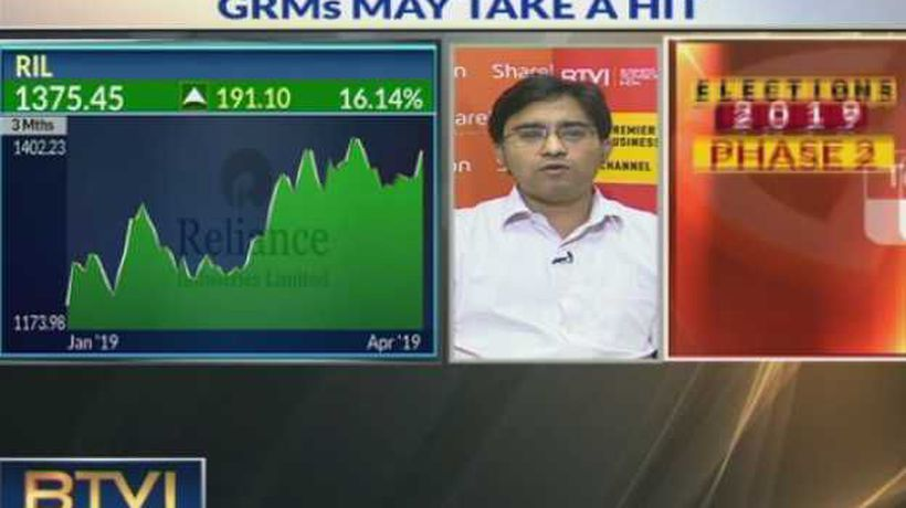 Stable Q4 expected for RIL, Refining volumes up by 1%