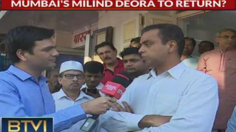 On ground in Mumbai: Milind Deora appeals for votes based on clean image, transparency
