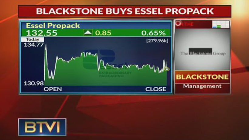 Blackstone buys Essel Propack