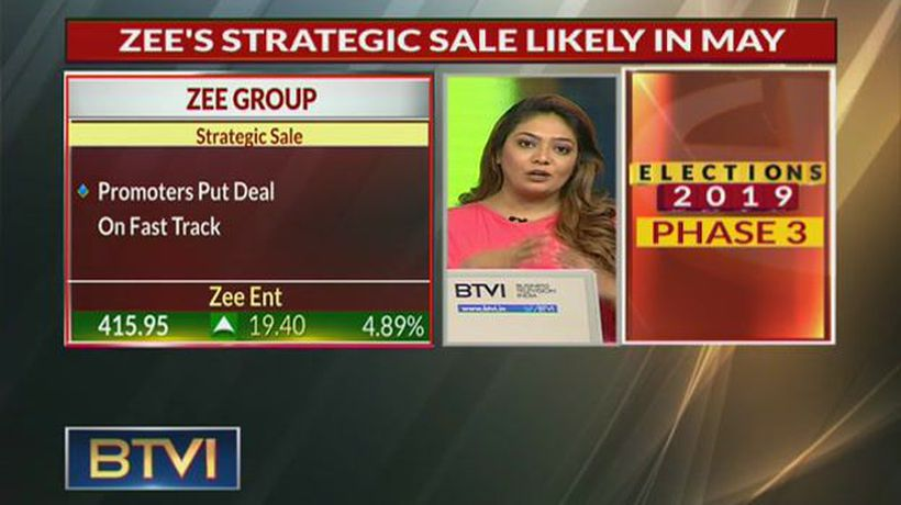 Zee Stocks Abuzz; Sales Likely In May