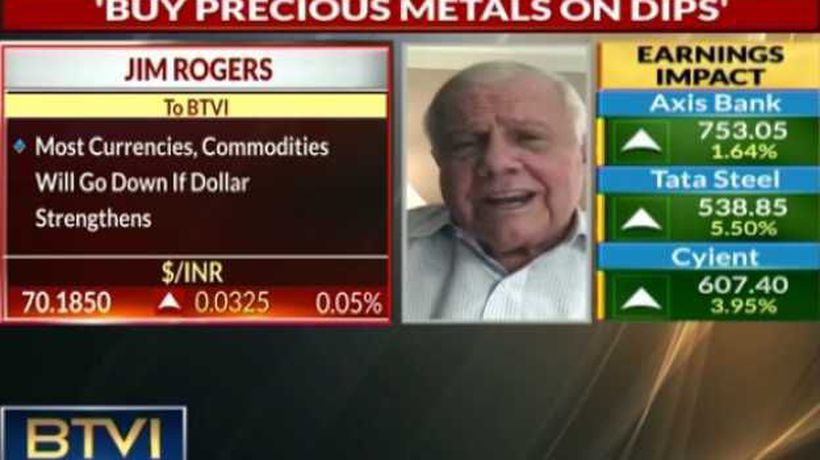 Most currencies, commodities to go down as Dollar rises: Jim Rogers