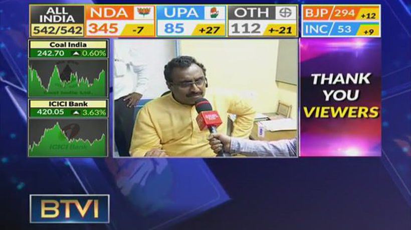 Happy About Mandate: Ram Madhav, BJP