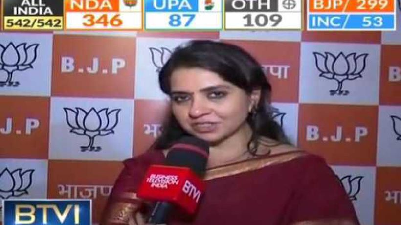 Shaina NC credits Modi, Shah teamwork for BJP's historic win