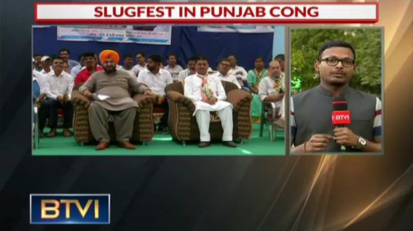 Slugfest in Punjab Congress: Sidhu Vs Amarinder