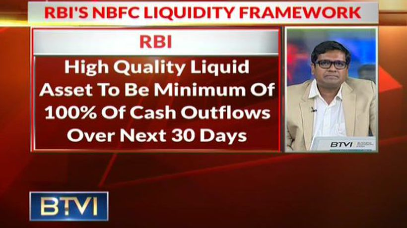 RBI releases draft circular on NBFC liquidity framework
