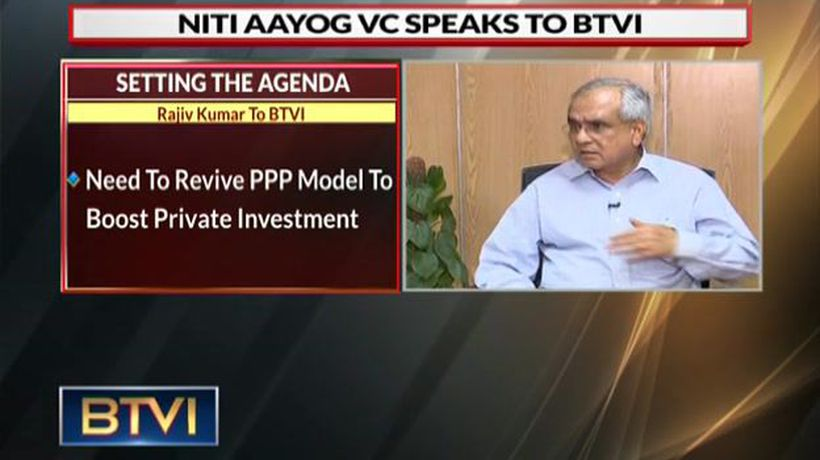 Boosting Private investment should be top agenda: Rajiv Kumar, Niti Aayog