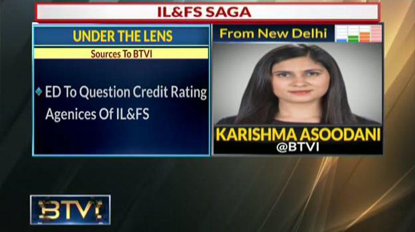 ED to question Credit Rating Agencies Of IL&FS