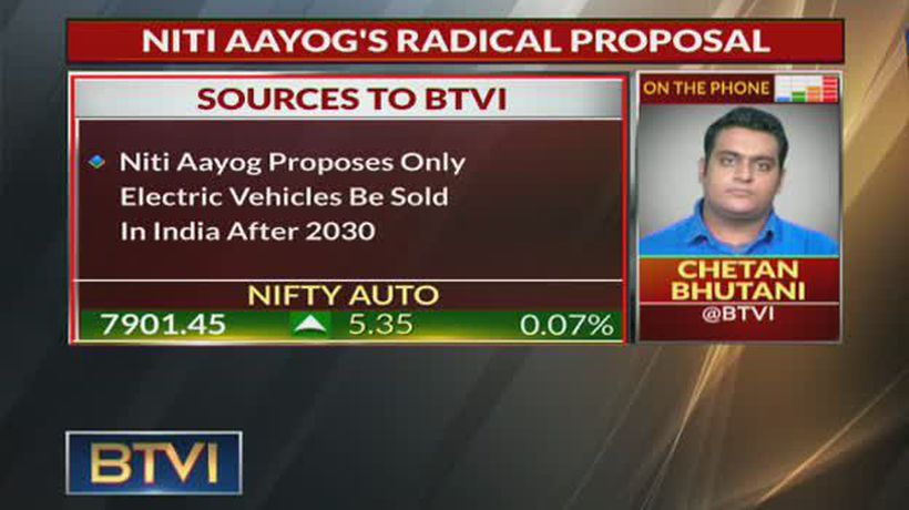 NITI Aayog's Radical Proposal: Only Electric Cars From 2030