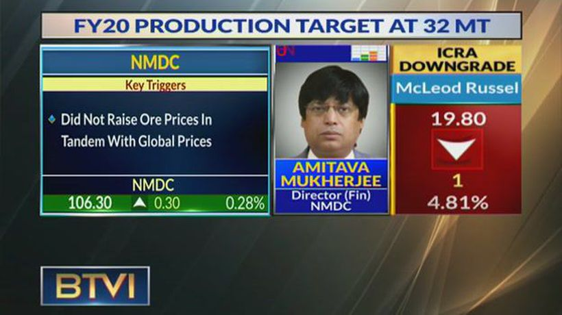 Expect Steel Plant To Be Commissioned By H2FY20:Amitava Mukherjee, NMDC