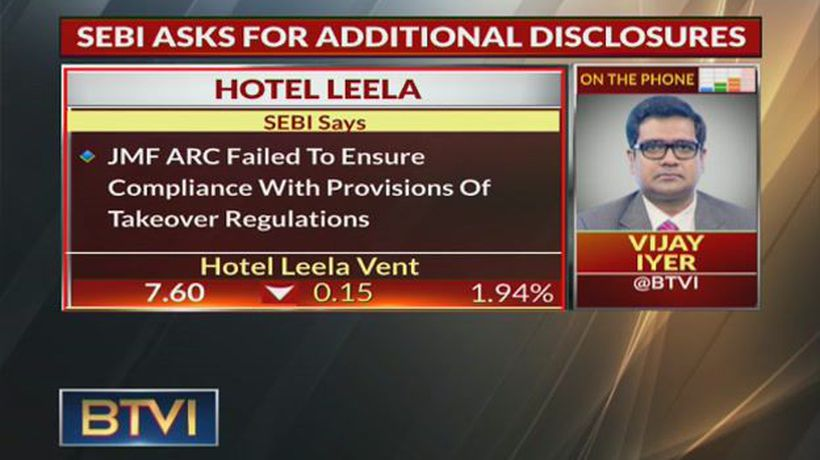 Sebi seeks details of transactions between Hotel Leela, Brookfield