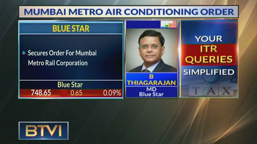 Mumbai Metro order to be carried out over 30 months: B Thiagarajan, Bluestar