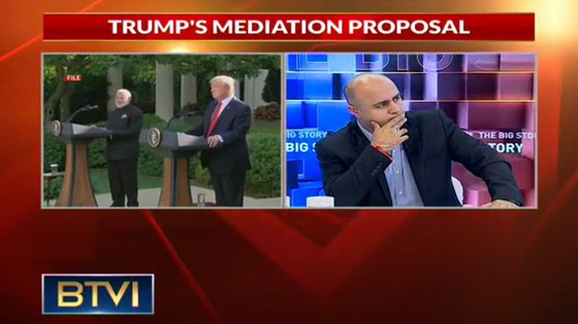 Trump offers to mediate again on Kashmir