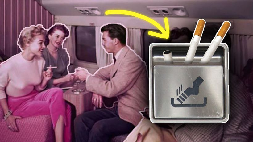 Why Planes Still Have Ashtrays