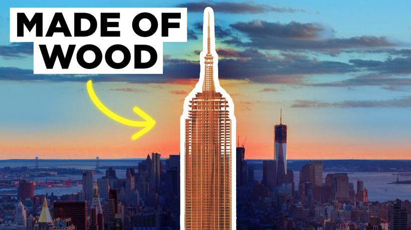 Wooden Skyscrapers Are On The Rise