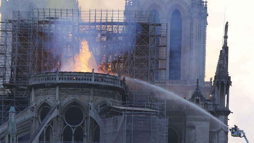 Tragedy in Paris: Notre Dame Cathedral Engulfed in Flames