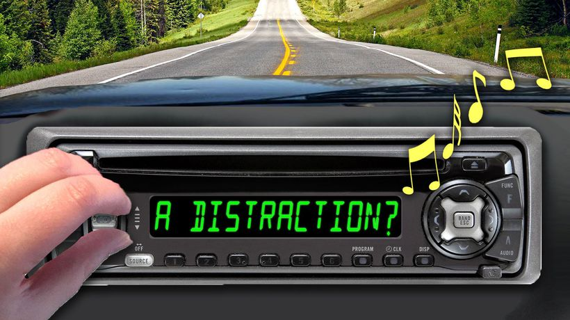 Why We Turn Down the Radio to Drive Better