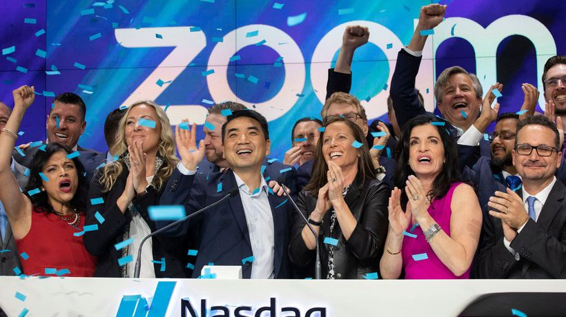 Zoom Shares Surge on First Day of Trading