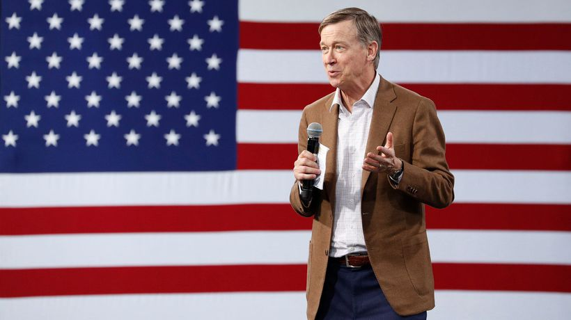 Candidate Hickenlooper Toes the Line in a Stratified Democratic Field