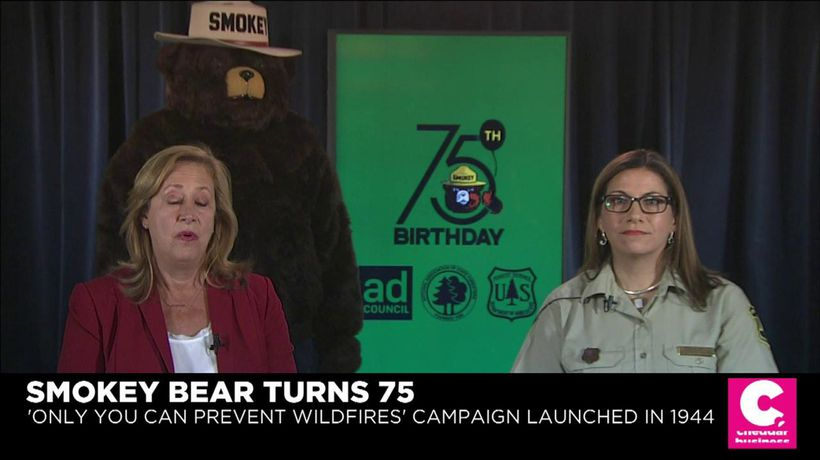 Smokey Bear Adapts to New Tech as He Turns 75