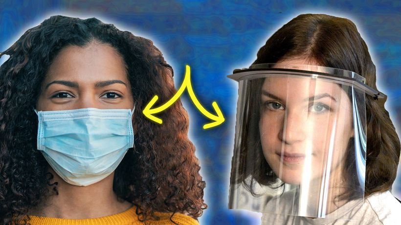 Are Face Shields Better Than Masks For Coronavirus?