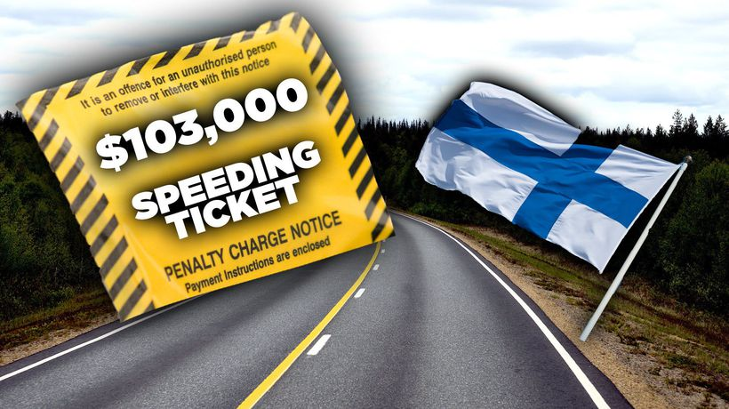 Why Finland has $100,000 Speeding Fines