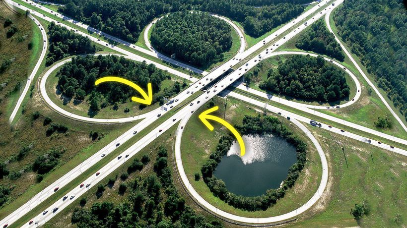 The Big Problem With Cloverleaf Interchanges