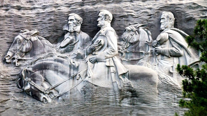 What To Do With America's Largest Confederate Monument?