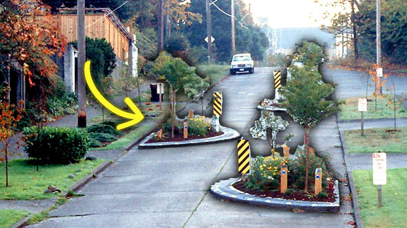 The Road Design Tricks That Make You Drive Slower