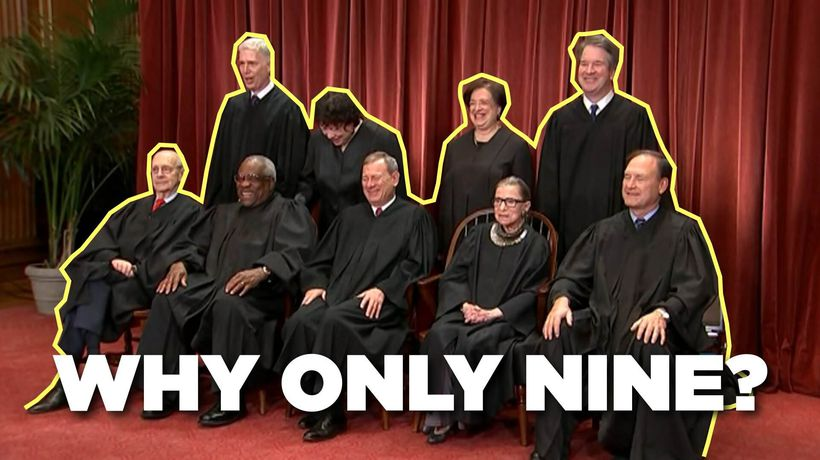 Why the Supreme Court has 9 Justices