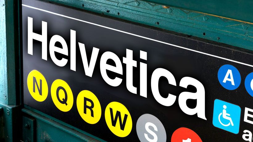 How The NYC Subway Was Saved By A Typeface